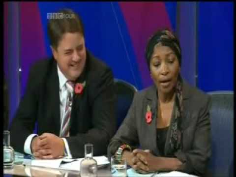 Nick Griffin summed up - Charlie Brooker's Screenwipe