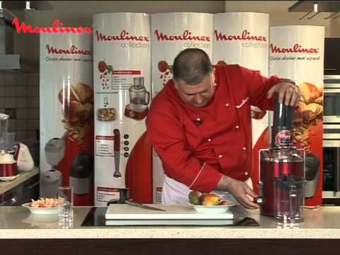Moulinex Storcator XXL . retete Horia Virlan ( Juice de fructe exotice)