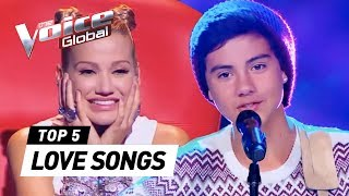 POWERFUL LOVE SONGS in The Voice Kids