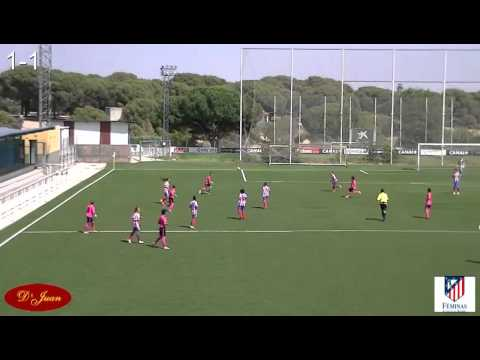 2a Parte del Atltico de Madrid Fminas - Cajasol Trigueros