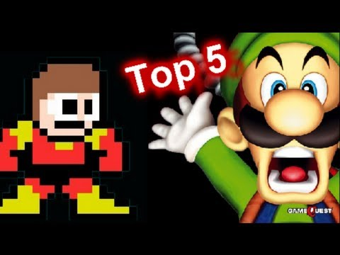 Top 5 Scariest Video Game Enemies from Non-Horror Games - MGx #1