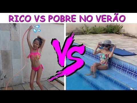 RICO VS POBRE NO VERÃO - PLANETA DAS GÊMEAS