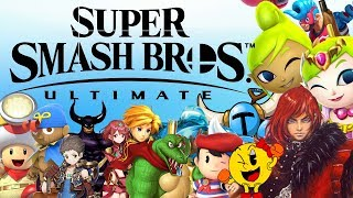 Super Smash Bros. Ultimate Roster Predictions