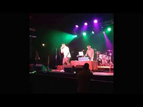 "B Jamon performing ""Raw"" (Chris Brown, & Kid Ink) type track..."