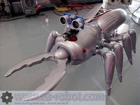 Creepy Robot