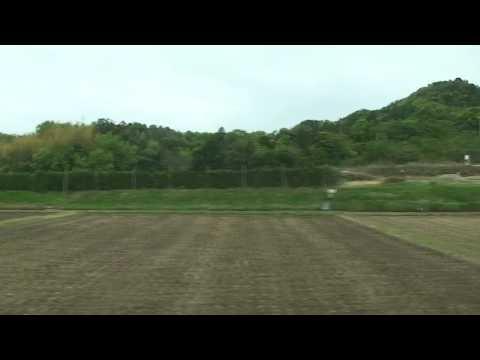 車窓:山陰本線「みすゞ潮彩」 黒井村→川棚温泉(キハ47形)