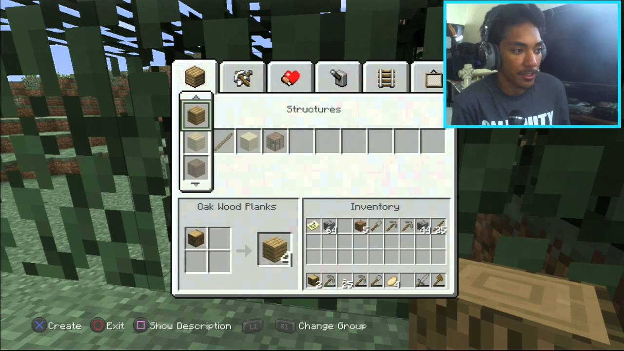 Tutorial Minecraft Quot How To Craft Quot Ps3 Edition Youtube