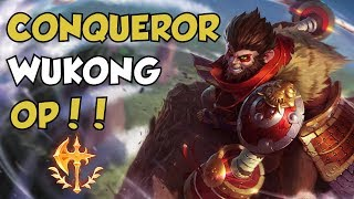 Conqueror Wukong Top Guide! - How to get out of Bronze ep.8 - League of Legends