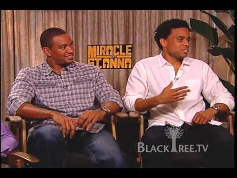 Miracle At St. Anna:  Derek Luke, Michael Ealy, Laz Alonso, Omar Benson Miller Interview