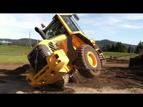 Front end loader FAIL - YouTube