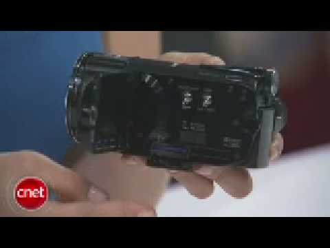 Canon Vixia HF S10  HD Camcorder Review CES 2009