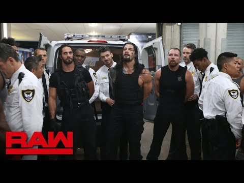 The Shield are arrested: Raw, Sept. 3, 2018 thumbnail
