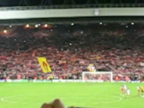 You'll Never Walk Alone, Liverpool Fc Vs Fc Barcelona 2007 video