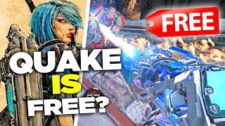 Quake Champions is Free to Play. What Happened?