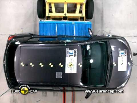 Euro NCAP | Toyota Yaris | 2011 | Краш-тест