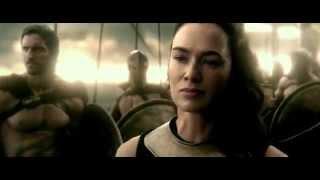 300 Rise of an Empire (2014) - Final Battle - Lena Headey,Eva Green