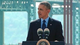 President Obama Speaks on Rebuilding Our Infrastructure