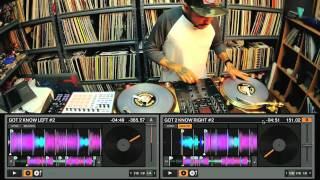 DJ Craze performs on the new Traktor Scratch Pro 2 (720p)