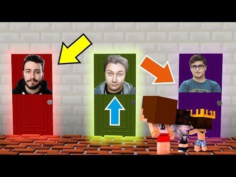 KAVGADA SUÇSUZ ÇIKAN YOUTUBER ? (Minecraft)