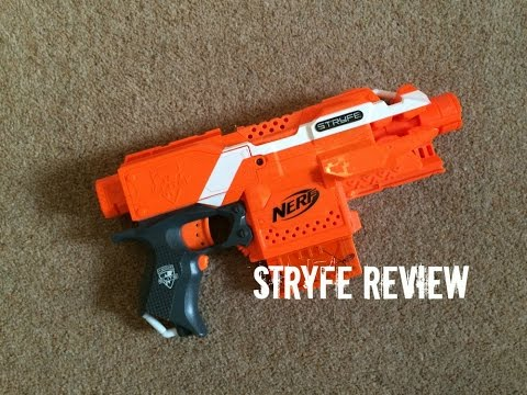 Nerf N-Strike Elite (Orange Version) Stryfe Unboxing & Quick Mod