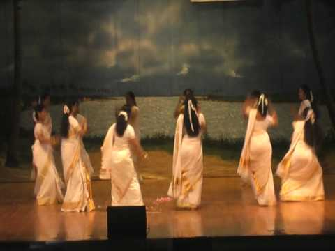Kcs Onam Mela 09 - thiruvathira - Kummi Veera Virada  Onam Group Dance video