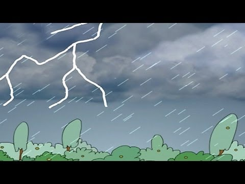 Nursery Rhymes - It's Raining It's Pouring, ' English Animation'