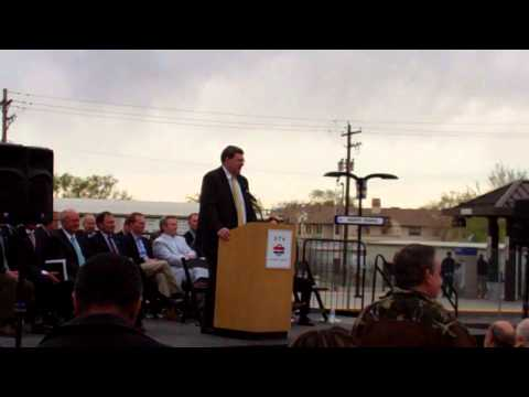 Airport TRAX Line Opening Ceremony