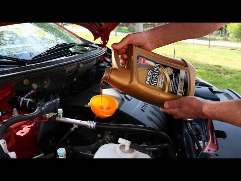 Mitsubishi Lancer - Oil and Oil Filter Change