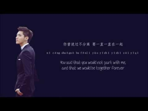 Kris Wu Yi Fan (吴亦凡) - Time Boils The Rain (时间煮雨) Chinese/PinYin/English) Lyrics 歌词