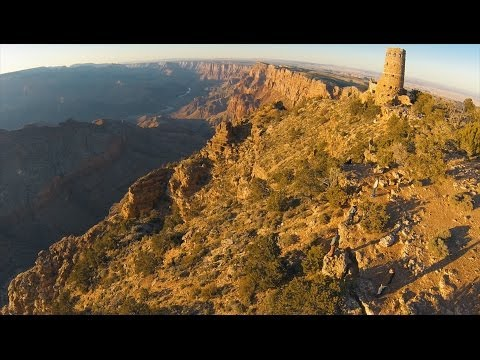 Phantom 2 Crashes in the Grand Canyon – Epic Drone Fail