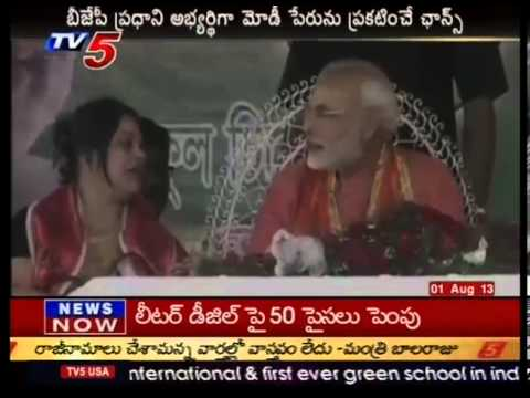 Narendra Modi as BJP PM candidate -  TV5