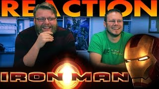 Iron Man Honest Trailer REACTION!!