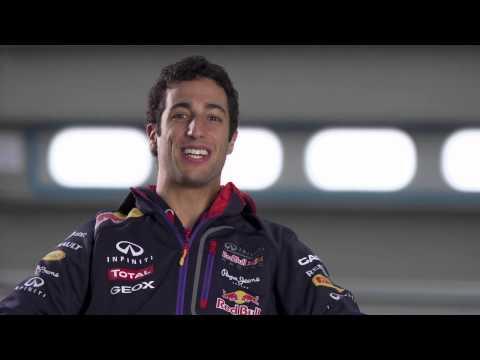 Daniel Ricciardo 2014 Pre Season Interview (RB10)