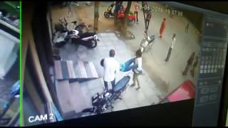 cctv footage of mayur vihar's rajat murder case