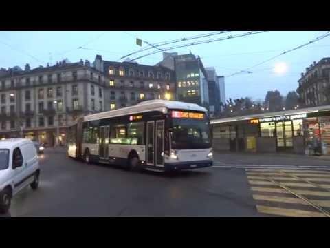 Vanhool new AGG300 # 105 TPG (Genève)