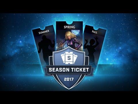 SMITE - Fantasy Points & Season Ticket 2017