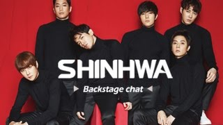 SHINHWA 신화 [Backstage Chat]