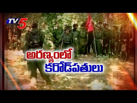 Naxals collecting Rs 140 crore 'levy' every year : TV5 News