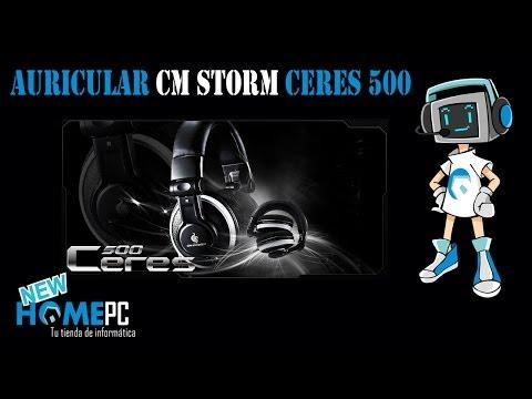 Cascos CM Storm Ceres 500    Análisis    @NewHomePC
