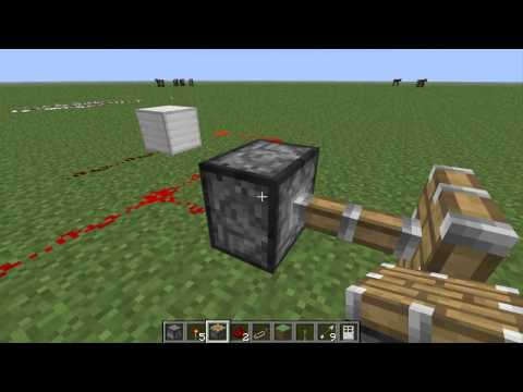 Minecraft tutorial de redstone y mecanismos de defensa