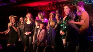 "Kinky Boots Sings Cyndi Lauper @ Feinstein's 54 Below ""We Are The World"" (7:00 show finale)"