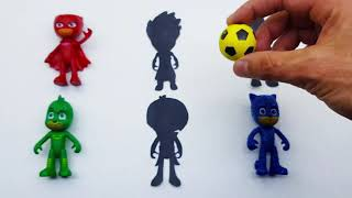 PRO Toys and Learn Wrong Pj Masks and colored balls! Learn names with pj masks toys for kids