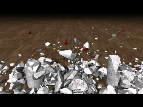 NVIDIA GDC 2012 GPU Fracture Demo