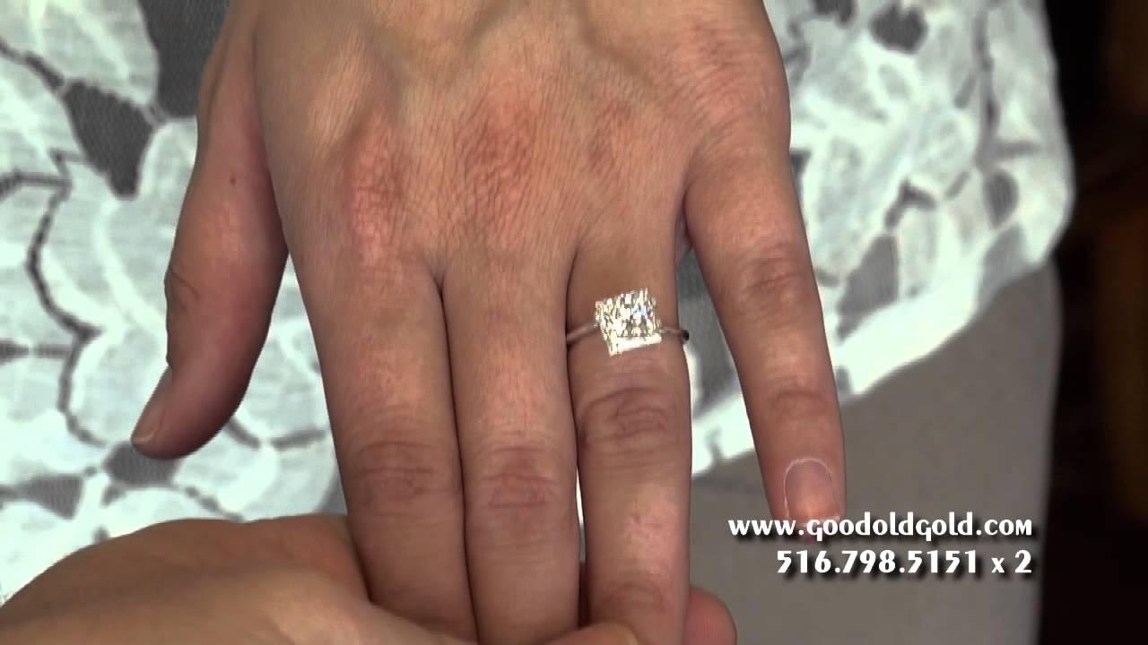 Princess Cut Dimensions Princess Cut Diamonds Size