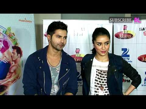 Varun Dhawan & Shraddha Kapoor On Sets Of DID Super Moms For ABCD 2 Part 3