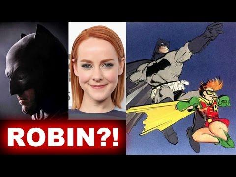 Jena Malone is Robin aka Carrie Kelley in Batman v Superman?! - Beyond The Trailer