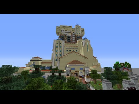 [Minecraft] Walt Disney Studios-Tower of Terror : Version 1
