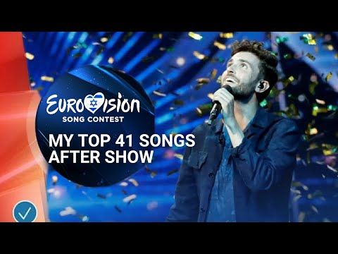 Eurovision 2019 // My Top 41 After Show