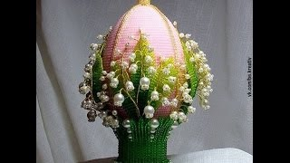 Пасхальное яйцо с ландышами (Easter egg with lilies of the valley)