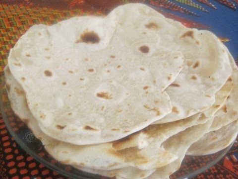 Chapati Recipe  - African flat bread recipe